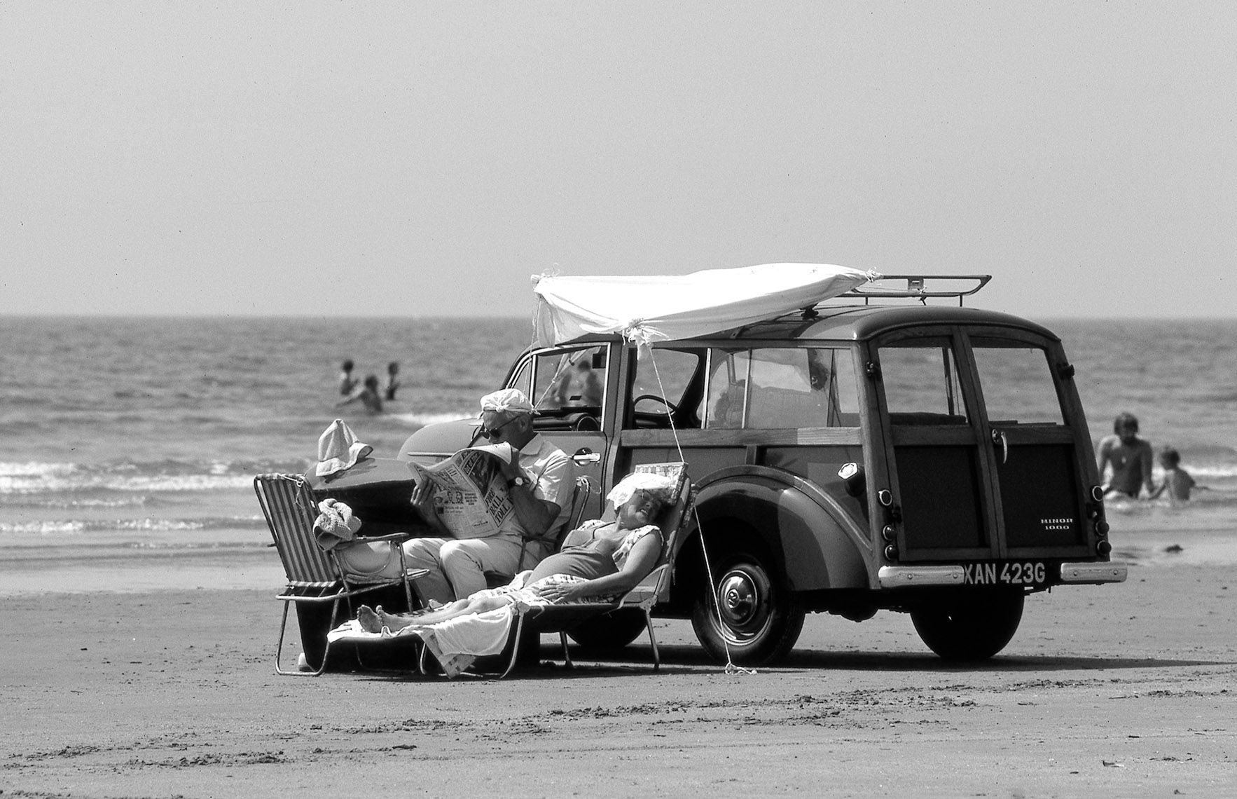 Old Woody, Circa 1960-Thorpe Bay, England