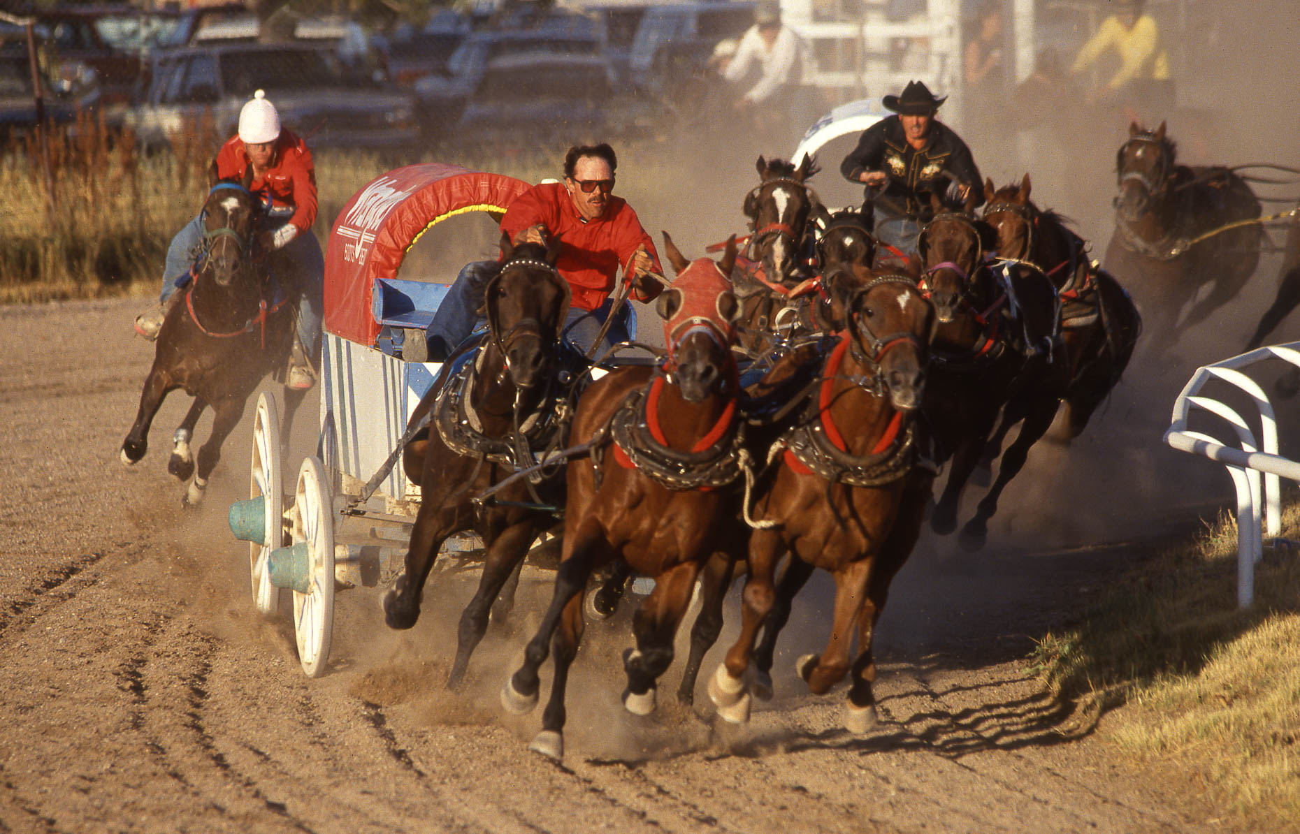 Chuckwagon Race